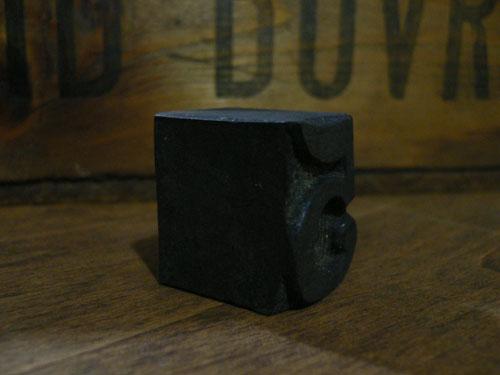 活版印刷用スタンプ