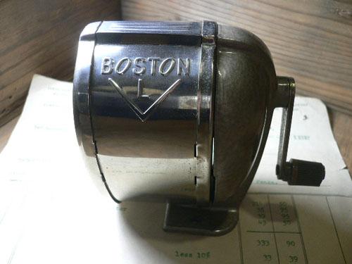 鉛筆削り BOSTON