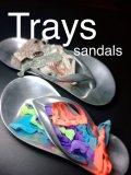 サンダル型トレイ