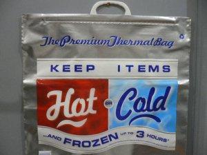 画像1: 再入荷!HOT COLD keep Bag 大