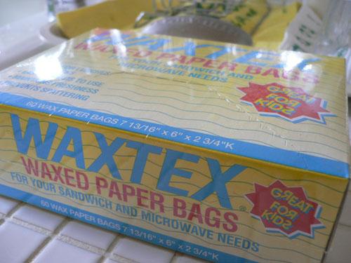 WAXTEX ペーパーバッグ